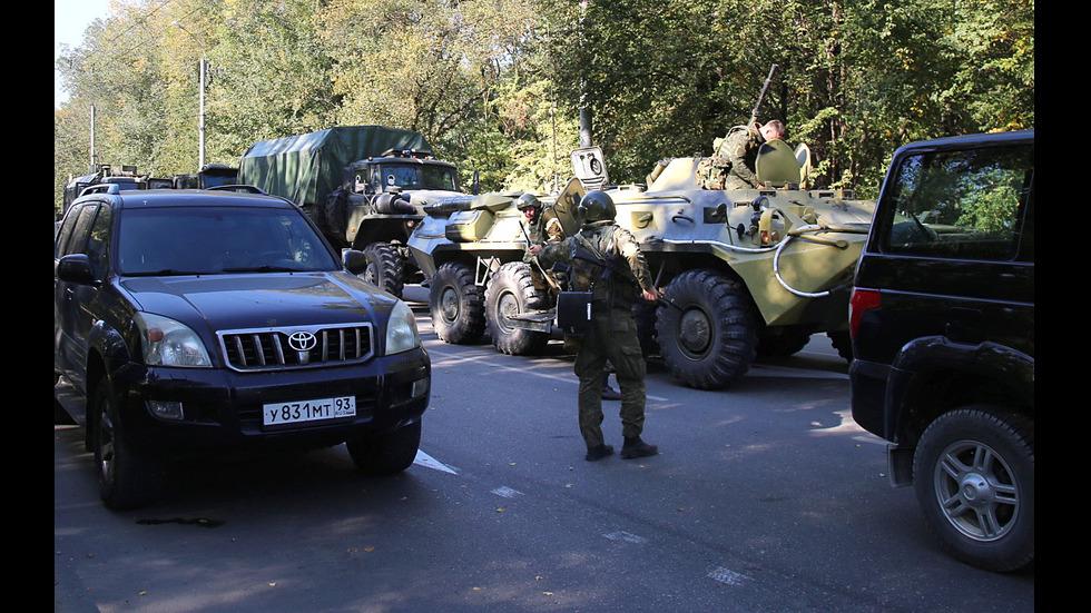 Терористичен акт в Крим