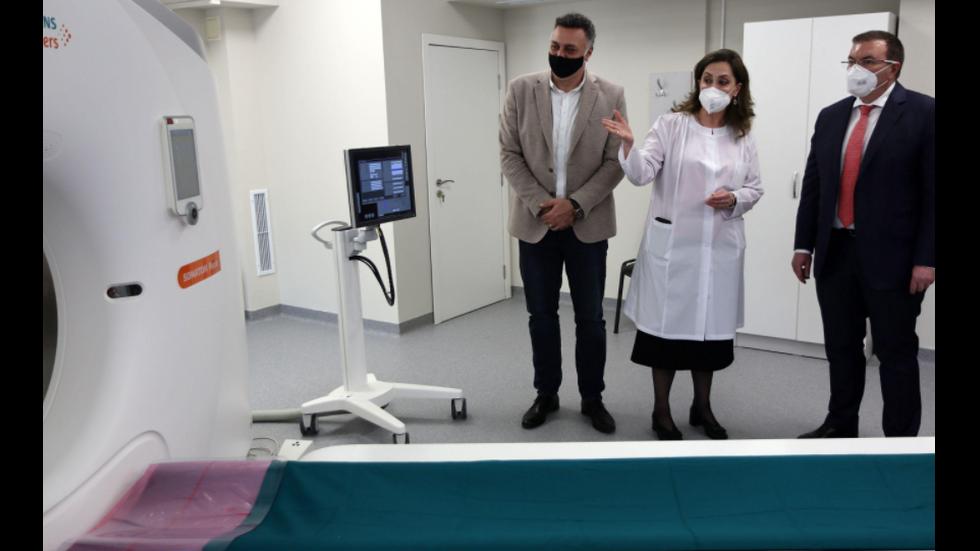 Министърът на здравеопазването откри супер модерен томограф във Варна