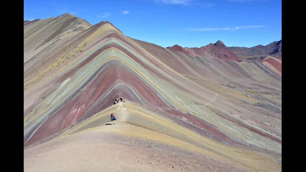 Планината на дъгата в Перу