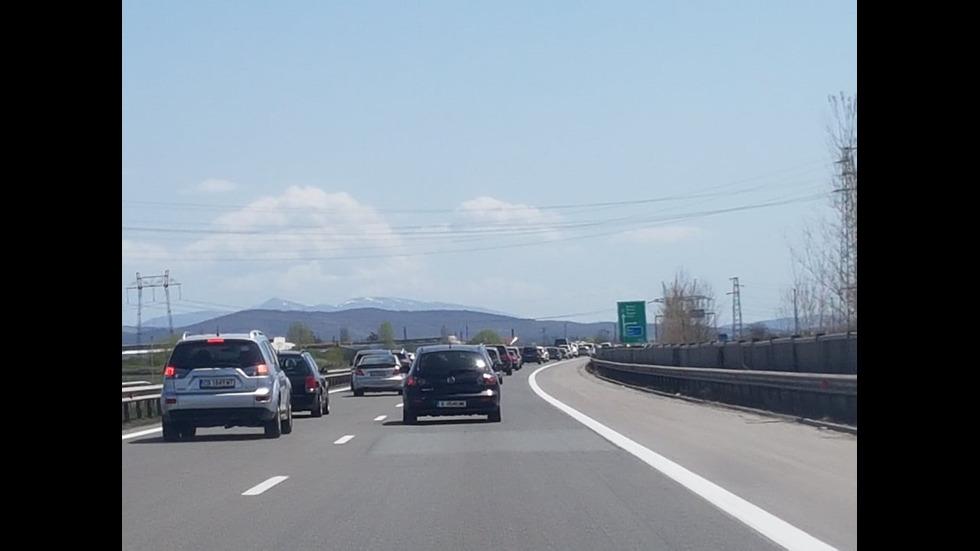Интензивен трафик в цялата страна