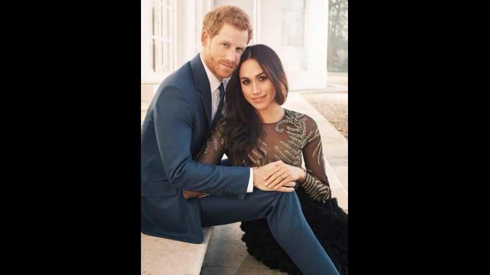 Годежните снимки на Принц Хари и Меган Маркъл