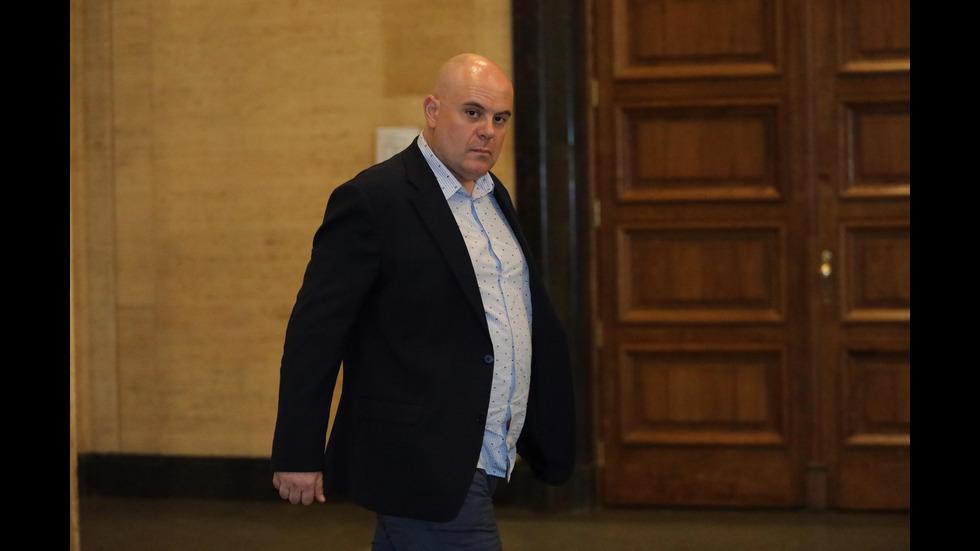 Брифинг на заместник-главния прокурор Иван Гешев