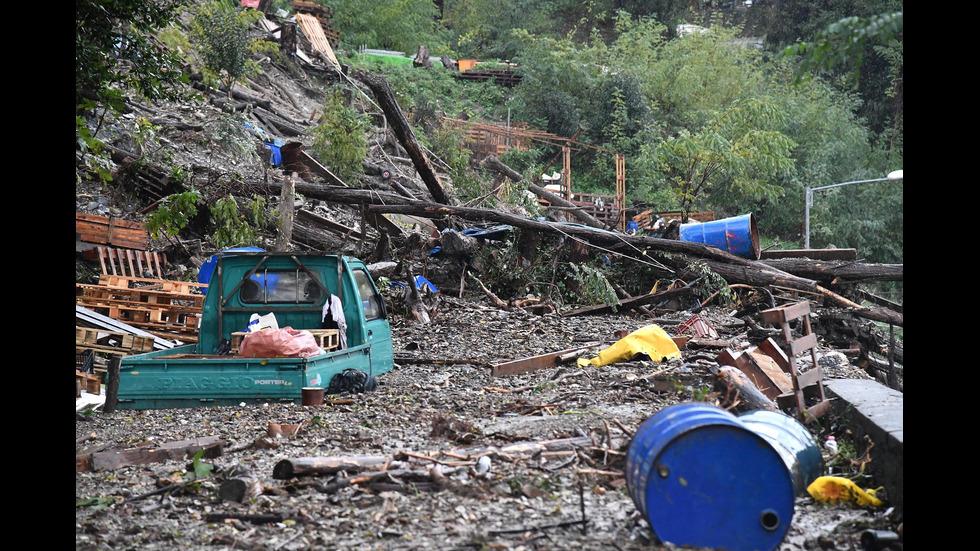 Наводнения в Италия и Франция