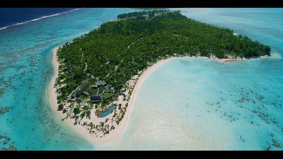 Пипа и съпругът й избраха за сватбеното си пътешествие остров Тетиароа