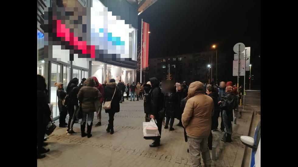 Евакуираха мол в София