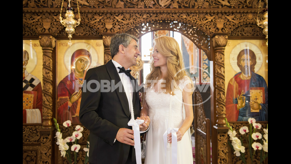 Деси Банова и Росен Плевнелиев сключиха брак