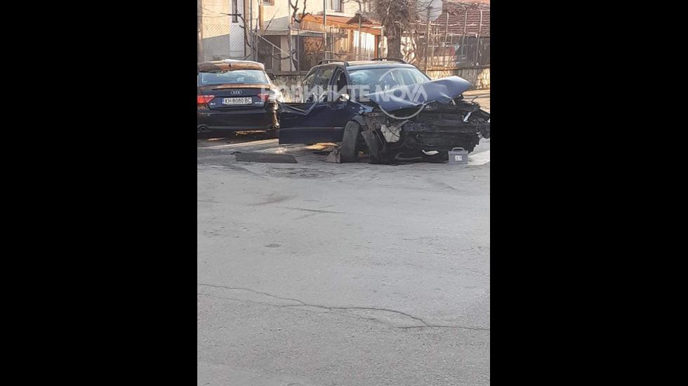 Тежка катастрофа с петима пострадали в Кюстендил