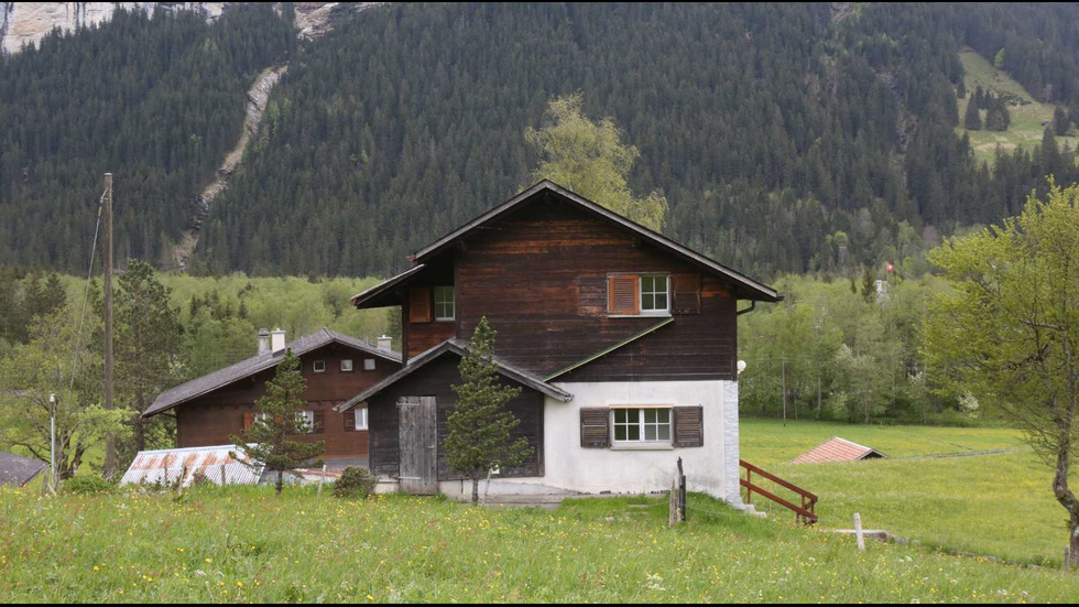 Красотата на алпийското градче Гринделвалд