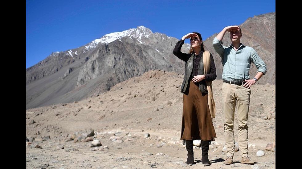 Принц Уилям и Кейт Мидълтън в Пакистан