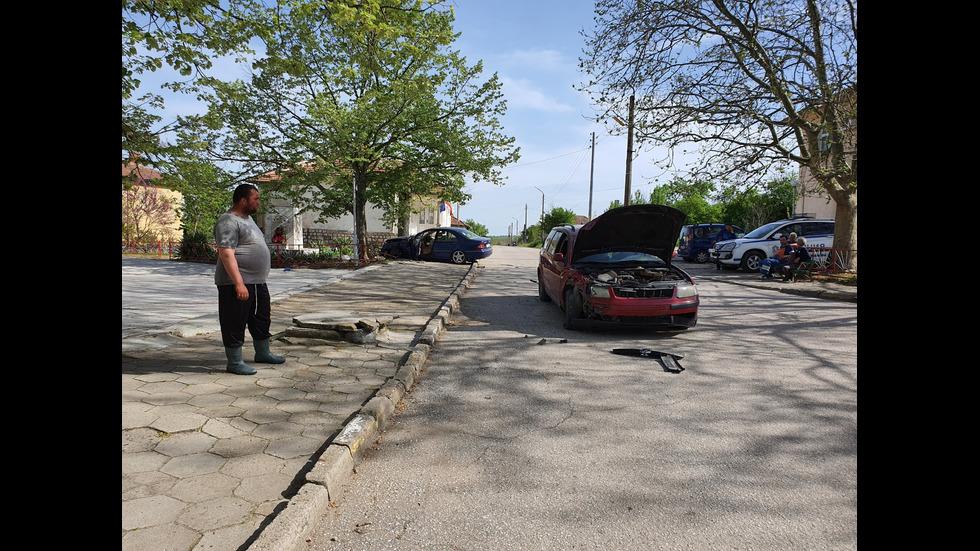 18-годишна без книжка помете с кола група деца на тротоар