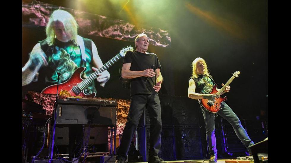 Фантастичното прощално шоу на рок легендите Deep Purple в София