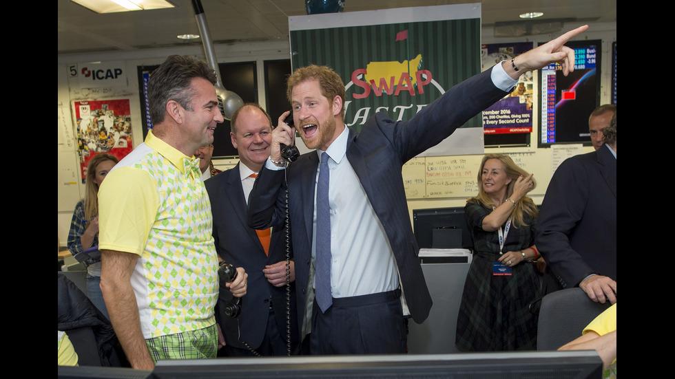 Принц Хари върти сделки за милиони