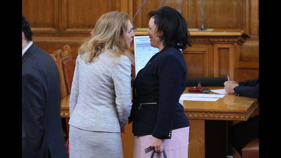 Депутатите избраха Десислава Танева за министър на земеделието