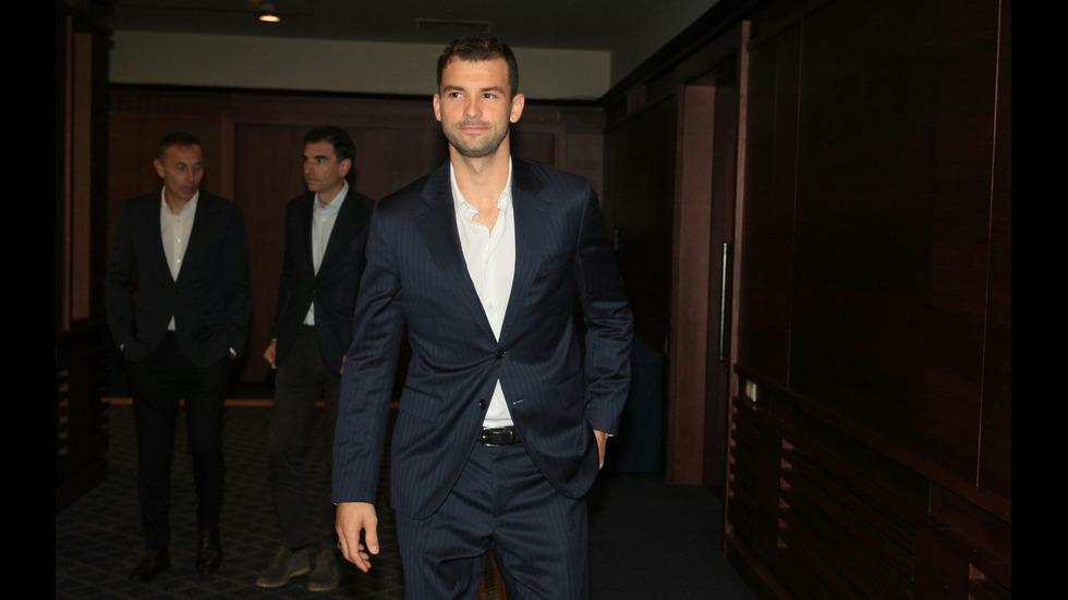 Григор Димитров ще играе за България в АТР Cup