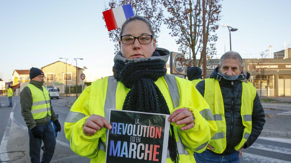 Протестите във Франция