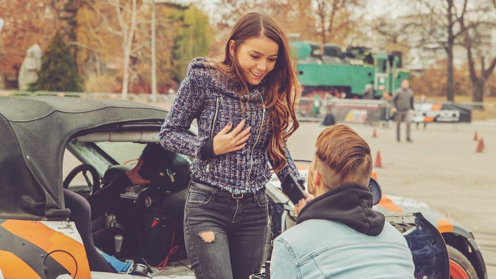 Наум Шопов се сгоди за дългогодишната си приятелка