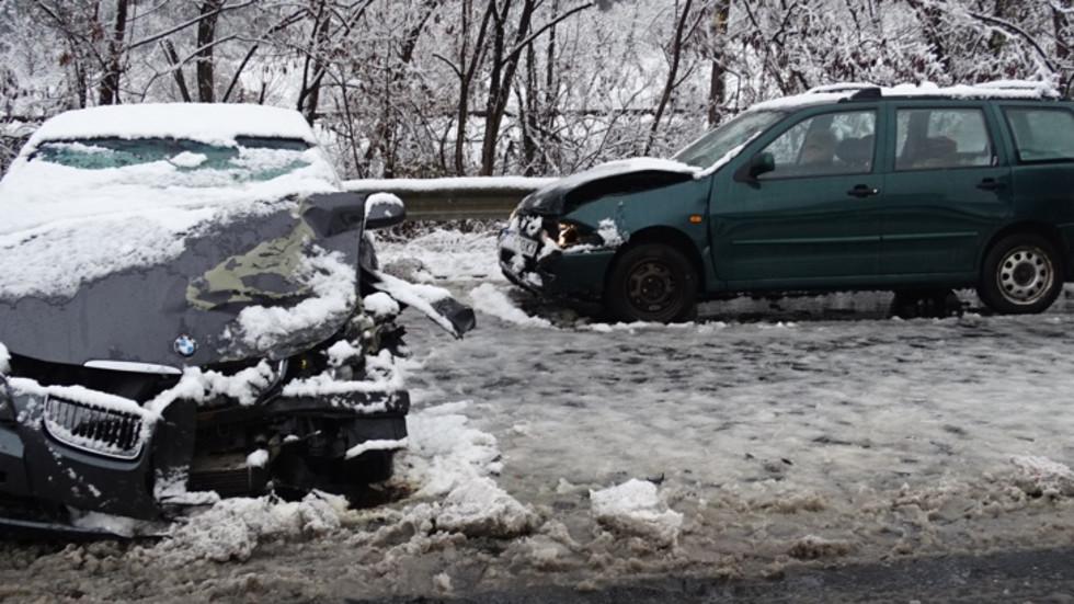 Катастрофа на пътя между Благоевград и Симитли