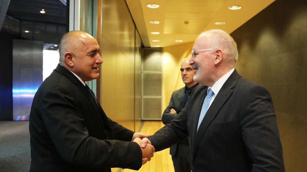 Бойко Борисов: Ще пледирам за уникалност в отношенията с английските служби