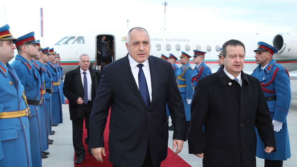 Бойко Борисов пристигна в Белград