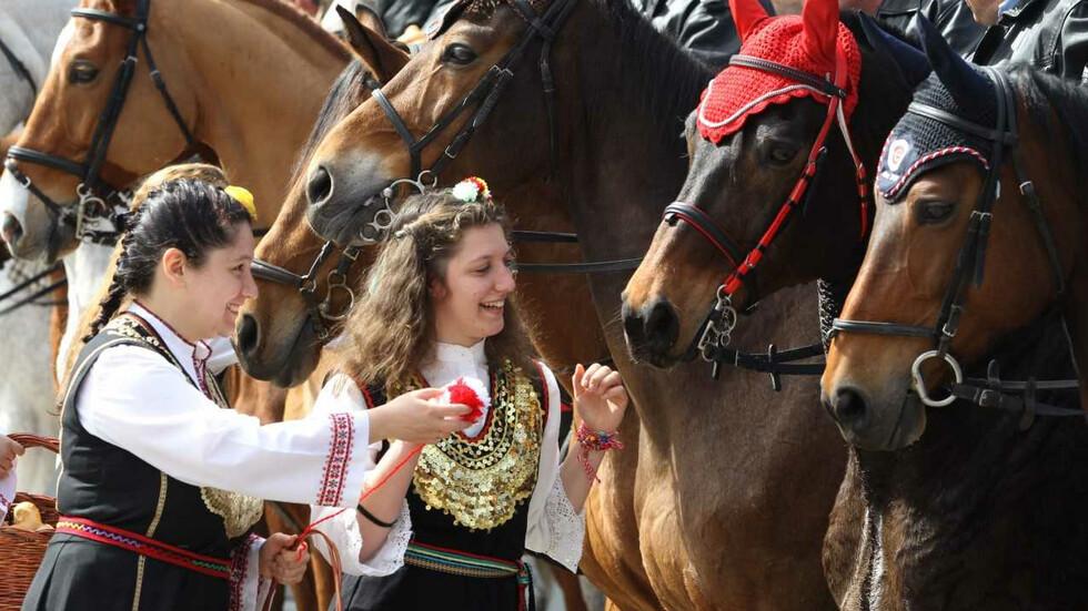 Тодоровден - Празник на конната полиция в квартал Бенковски II