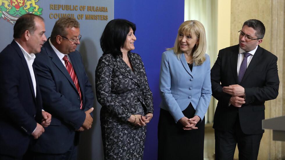 Брифинг на представители на превозвачите след среща с премиера Борисов