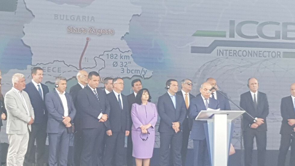 Борисов и Ципрас стартират интерконектора