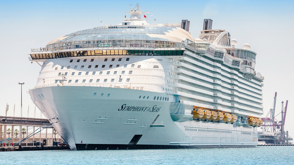 Най-големите круизни кораби
