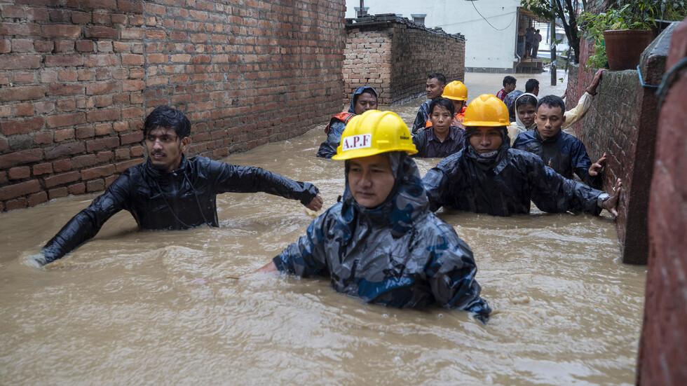 Катастрофално наводнение в Непал