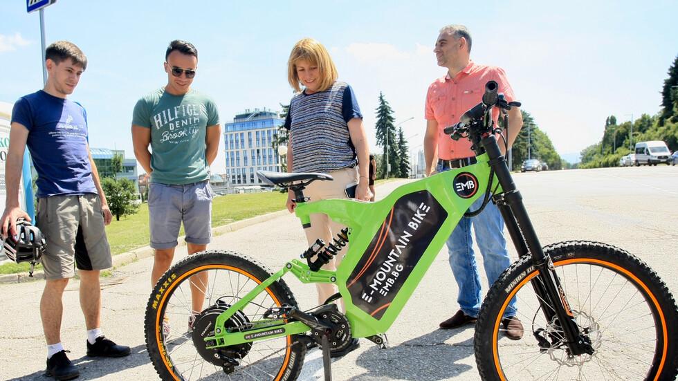 """Атакуваме """"Витоша"""" с електрически велосипеди от две точки в София"""