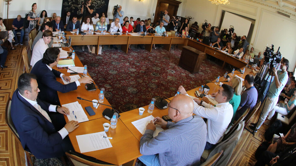 Заседание на парламентарната правна комисия