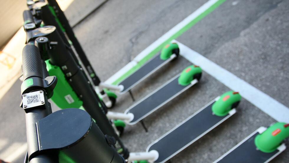 В София вече има електрически тротинетки за споделено ползване