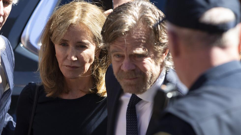 Осъдиха на 14 дни затвор актрисата Фелисити Хъфман