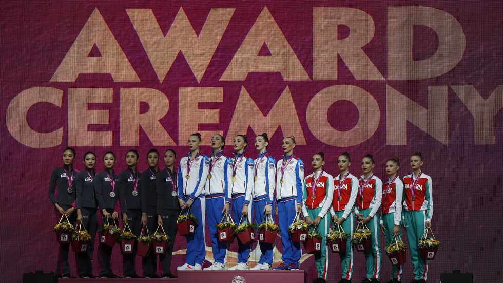 Златните ни момичета спечелиха бронз на многобоя в Баку