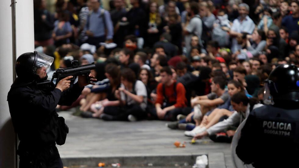 Сблъсъци в Испания заради присъдите на 9 каталунски сепаратистки лидери