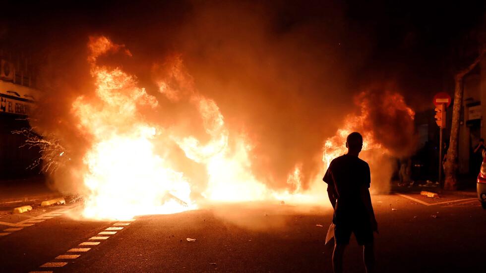 Протестите в Барселона ескалират