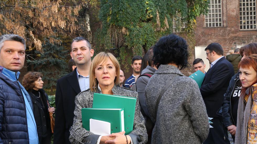 Мая Манолова внесе жалба за касиране на изборите в ОИК - София
