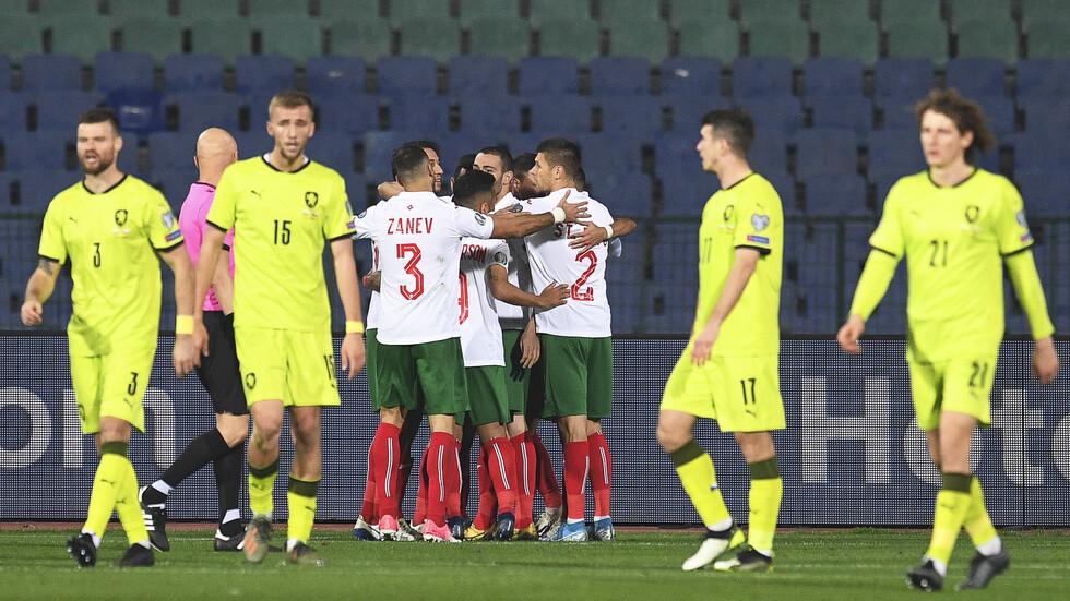 България би Чехия с 1:0