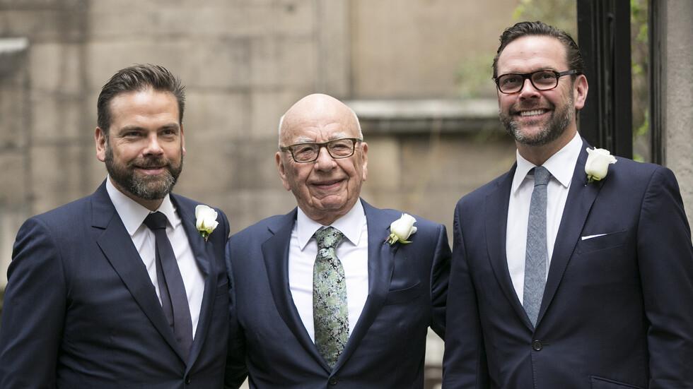Синът на Мърдок си купи имение за $ 150 милиона