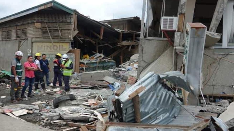 Земетресение във Филипините