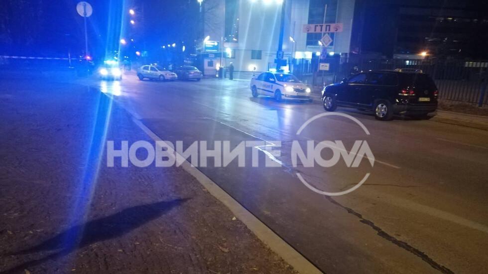 Изтичане на газ в центъра на София?