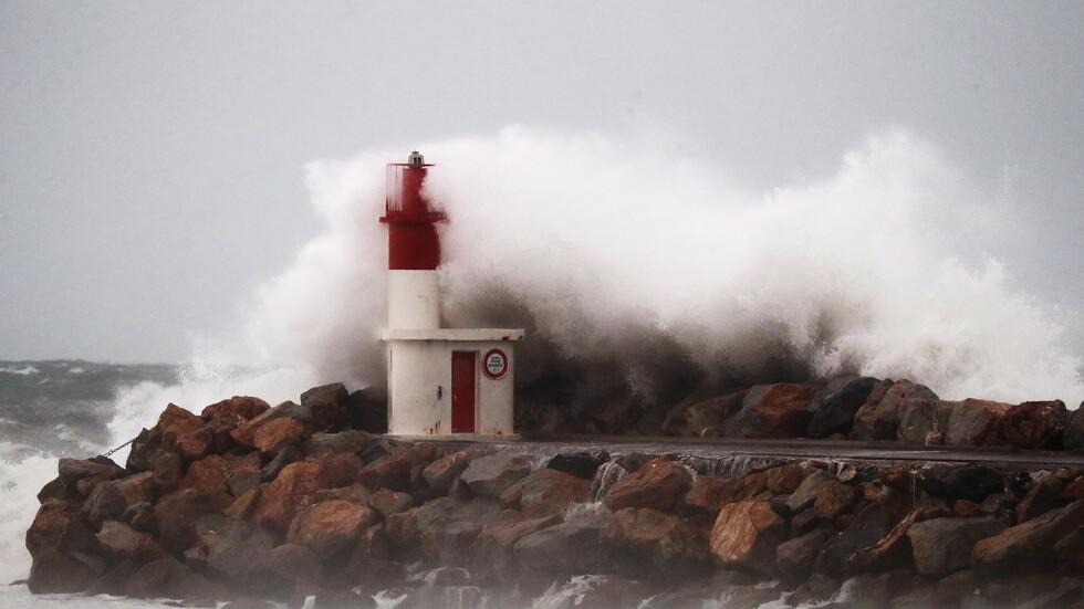 """Бурята """"Глория"""" във Франция"""