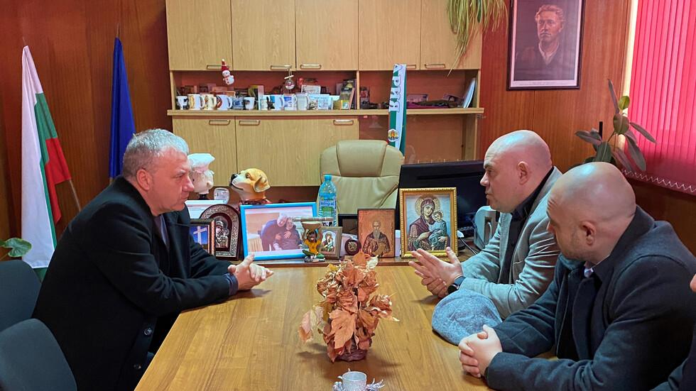 Гешев се срещна с кметовете на Чирпан и Зетьово