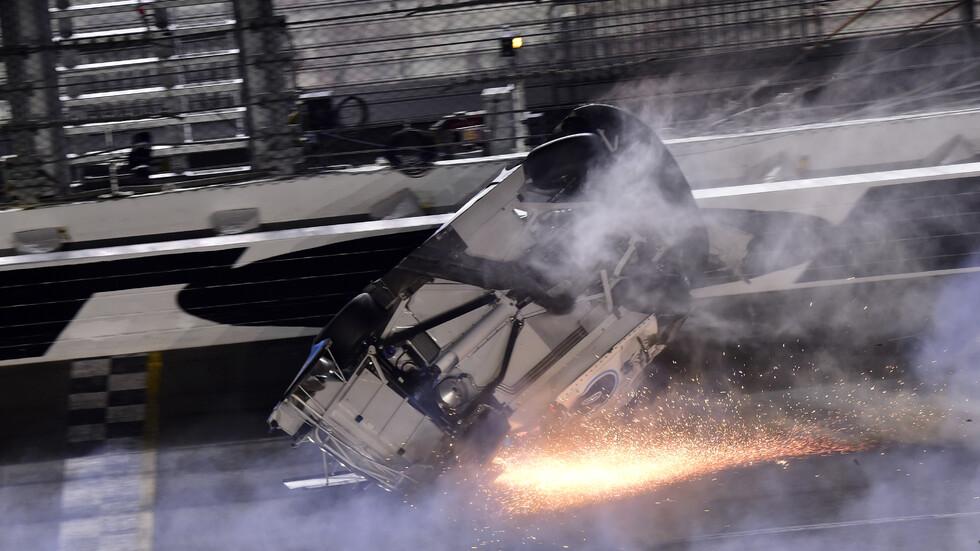 Mасово меле помрачи състезанието Дейтона 500