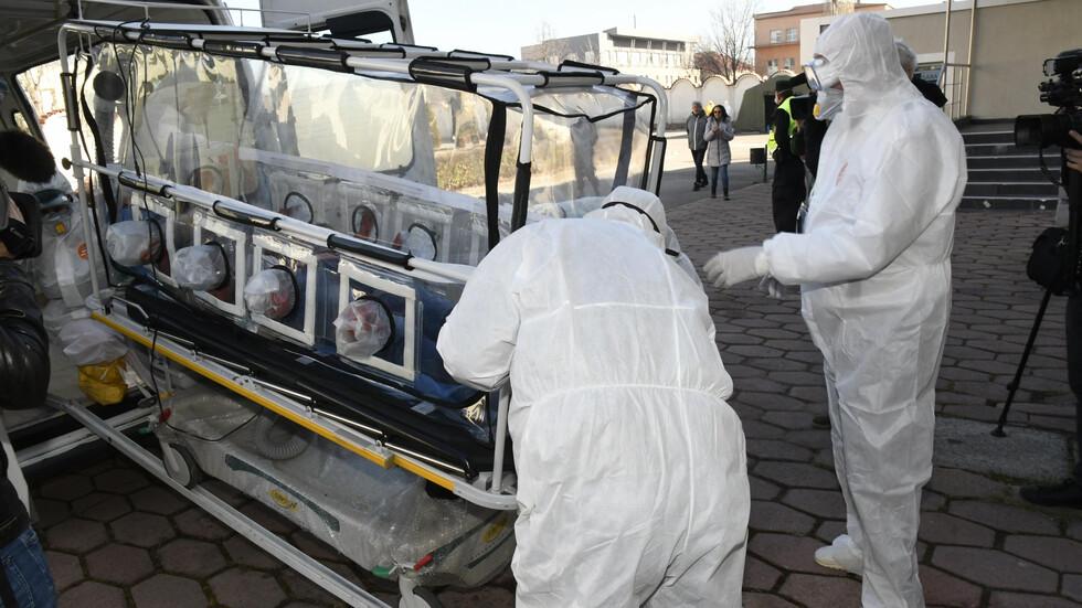 Учение на летище София и във ВМА за справяне с коронавируса
