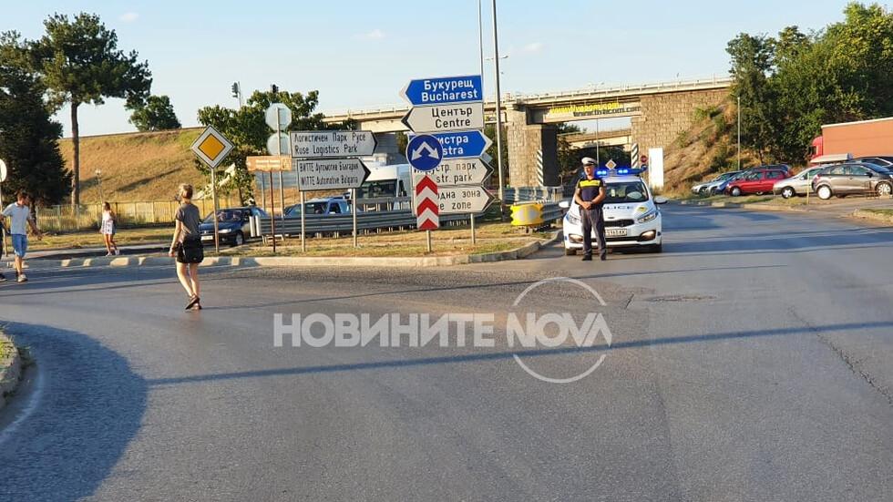 """Протестиращи блокираха движението към ГКПП """"Дунав мост"""""""