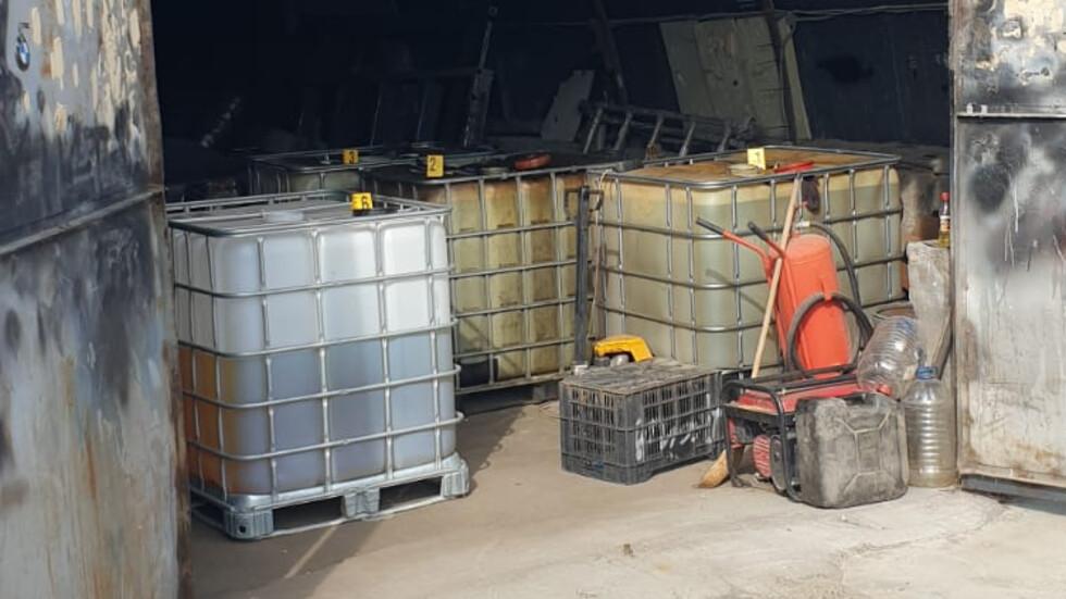 Откриха незаконна бензиностанция в Дупница
