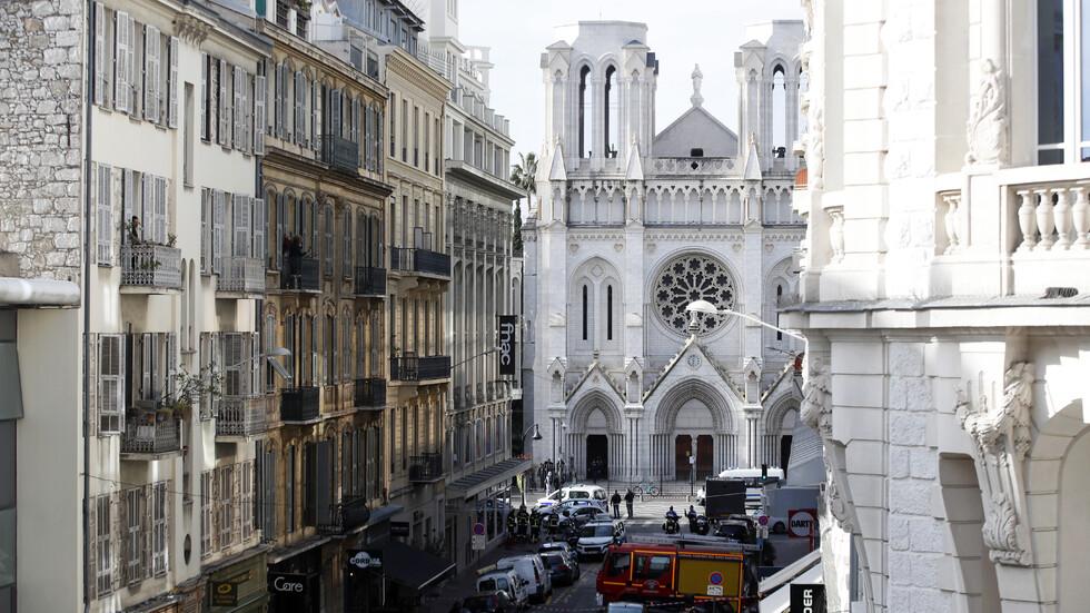 Атака с нож в църква в Ница