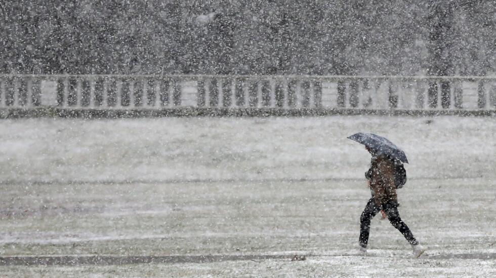 Снежна приказка в София