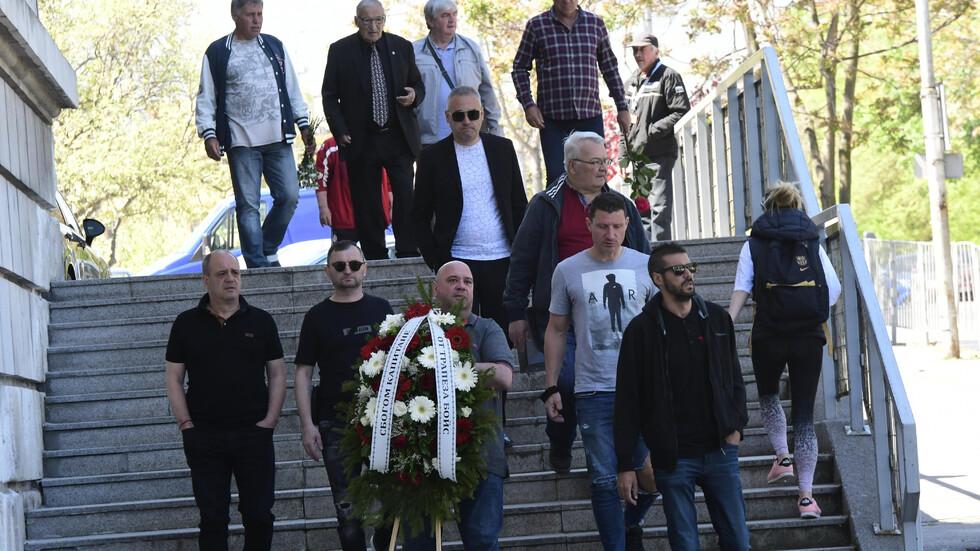 Стотици се сбогуваха с легендата на ЦСКА Георги Димитров - Джеки