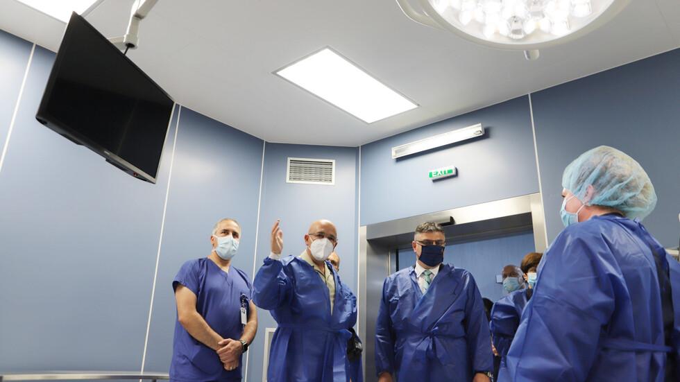 Откриха операционни зали от световно ниво във ВМА